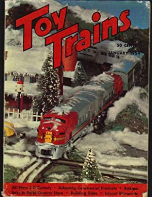 Seller image for Toy Trains: The Model Trainman's Magazine: Vol. 3, No. 3, January 1954 for sale by Clausen Books, RMABA