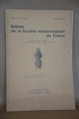Bulletin De La société Entomologique De france,: Société Entomologique De