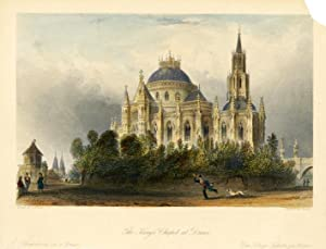 The King's Chapel at Dreux.: ALLOM, T.
