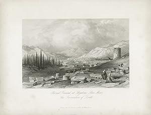 Burial Ground at Thyatira, Asia Minor. The: ALLOM, T.