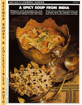 McCall's Cooking School Recipe Card: Soups 2 - Mulligatawny Soup (Replacement McCall's Recipage o...