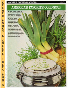 McCall's Cooking School Recipe Card: Soups 6 - Vichyssoise (Replacement McCall's Recipage or Reci...