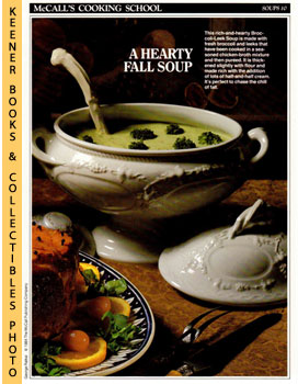 McCall's Cooking School Recipe Card: Soups 10 - Turkey-And-Vegetable Chowder (Replacement McCall'...