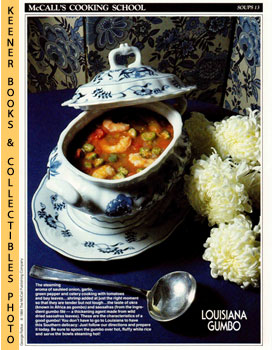 McCall's Cooking School Recipe Card: Soups 13 - Shrimp-And-Vegetable Gumbo (Replacement McCall's ...