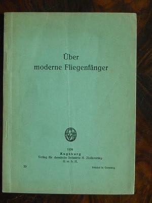 Über moderne Fliegenfänger. (Zutaten, Herstellung, Grossapparatur.).: Anonym. (= K. W.).