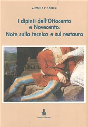 I dipinti dell'Ottocento e Novecento. Note sulla: Torresi,Antonio.P.
