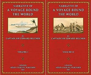 A Voyage round the World - Vol. 1 - 2: Belcher, Edward