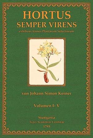 Hortus Sempervirens: Kerner, Johann Simon