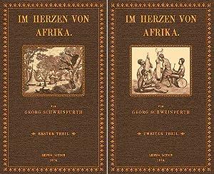 Im Herzen von Afrika - 1 und: Schweinfurth, Georg August