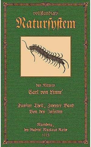 Vollständiges Natursystem - 5.2 - Insecten 2: Linnà , Carl Ritter von