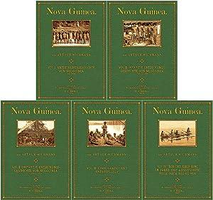 Nova Guinea - 4 volumes in 5 books: Wichmann, Arthur