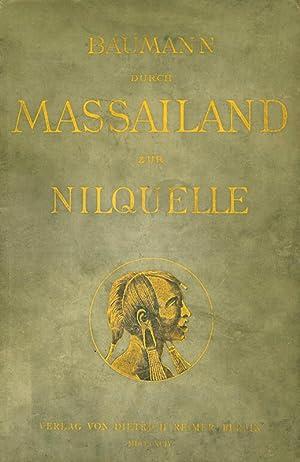 Durch Massailand zur Nilquelle: Baumann, Oscar