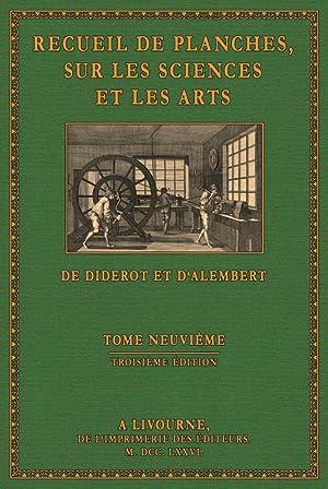 Encyclopà die - Planches 10: Diderot, Denis / d'Alembert, Jean Baptiste le Rond