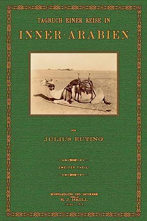 Reise durch Innerarabien - 2: Euting, Julius & Littmann, Enno
