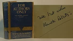 For Authors Only: Kenneth Roberts