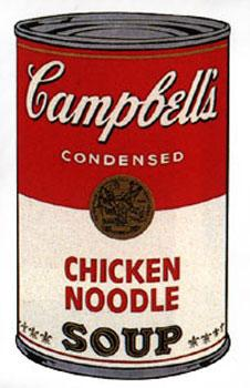 Campbell's Soup I 1968. Chicken Noodle.: Warhol, Andy (After).
