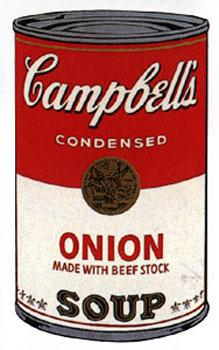 Campbell's Soup I 1968. Onion.: Warhol, Andy (After).