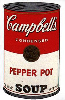 Campbell's Soup I 1968. Pepper Pot.: Warhol, Andy (After).