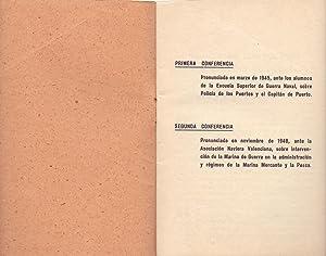 DOS CONFERENCIAS SOBRE POLICIA DE LOS PUERTOS: Juan Navarro Dagnino