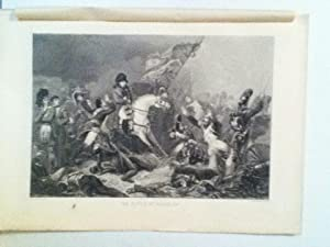 The Battle Of Waterloo Steel Engraved Plate: Steuben