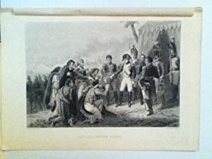 Napoleon Before Madrid, Steel Engraved Plate: Vernet, Carle