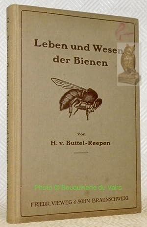 Leben und Wesen der Bienen. Mit 60 Abbildungen und einer Tabelle.: BUTTEL-REEPEN, H.v.