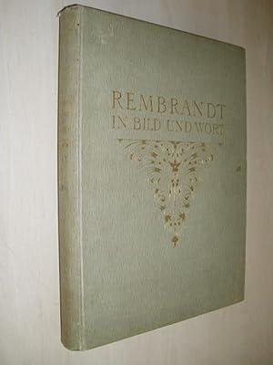 Rembrandt in Bild und Wort. (In 20 Lfgn.): Rembrandt. - Valentiner, Wilhelm R.-