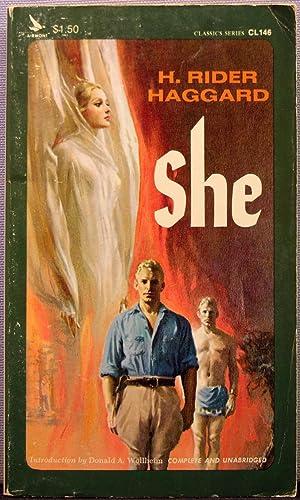 She [Ayesha #1]: H. Rider Haggard