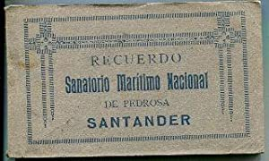RECUERDO SANATORIO MARITIMO NACIONAL DE PEDROSA SANTANDER. ALBUM DE 19 POSTALES/SOUVENIR FROM ...