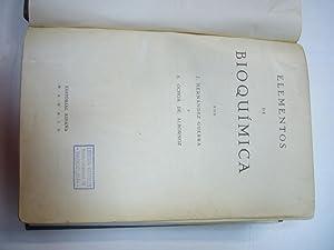 ELEMENTOS DE BIOQUÍMICA.: J. HERNANDEZ GUERRA Y S. OCHOA DE ALBORNOZ
