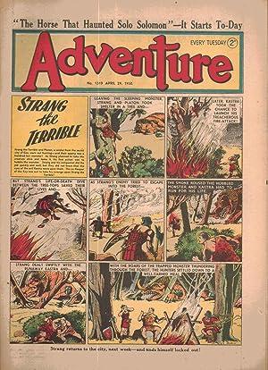 Adventure comic. Number 1319. April 29, 1950