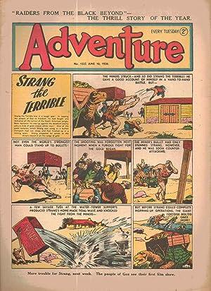 Adventure comic. Number 1325. June 10, 1950