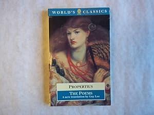The Poems: Propertius