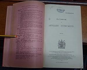 Handbook Of Artillery Instruments 1914.: Annon