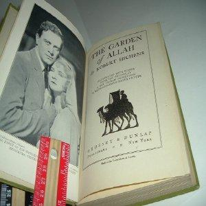 THE GARDEN OF ALLAH By ROBERT HICHENS 1904 PHOTOPLAY: ROBERT HICHENS