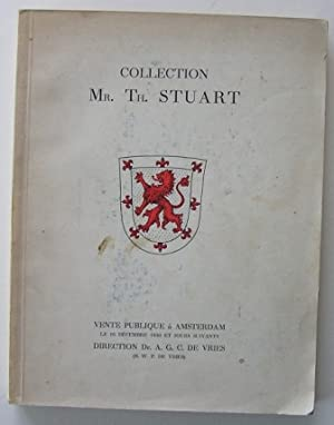 Collection de feu Mr. Th. Stuart a Amsterdam (Catalogue),