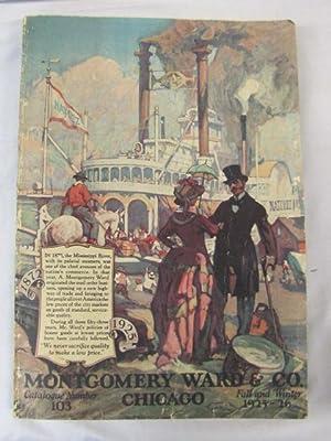 1925 Montgomery Ward Fall/Winter Catalog 1925-1926: Montgomery Ward