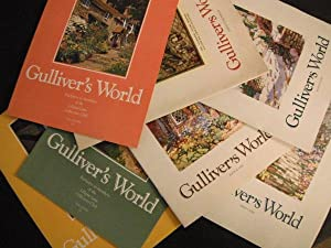 Gulliver's World Magagzine (Lilliput Lane): 8 issues (1993 Nos. III & IV, 1994 Nos. I, II & IV, 1...