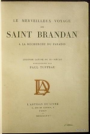 Le merveilleux voyage de Saint Brandan à la recherche du Paradis: Anonyme
