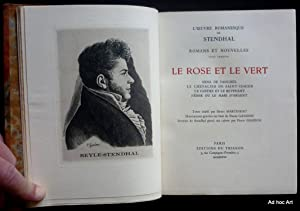 Oeuvres romanesques: STENDHAL, Henry (BEYLE, dit)