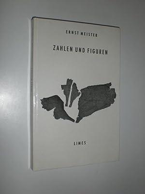 Zahlen und Figuren. Gedichte.: MEISTER, Ernst: