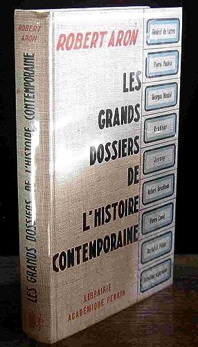 LES GRANDS DOSSIERS DE L'HISTOIRE CONTEMPORAINE: ARON Robert