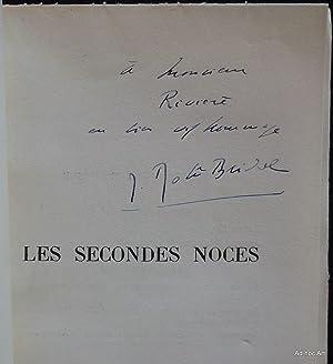 Les secondes noces: DEBÛ-BRIDEL, Jacques