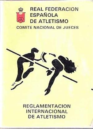 Imagen del vendedor de Reglamentación Internacional de Atletismo a la venta por SOSTIENE PEREIRA