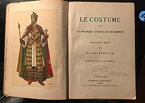 Le Costume Chez Les Peuples Anciens et: FREDERIC HOTTENROTH