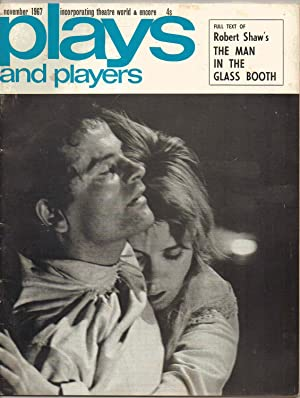 PLAYS AND PLAYERS magazine. NOVEMBER 1967. Includes: Full Text of Robert Shaw's 'The Man in...
