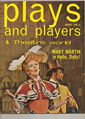 PLAYS AND PLAYERS & Theatre World. Monthly magazine. January 1966