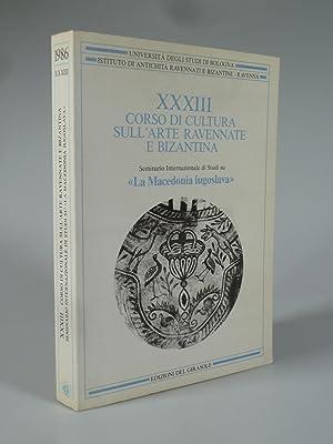 XXXIII (33) CORSO DI CULTURA SULL'ARTE RAVENNATE