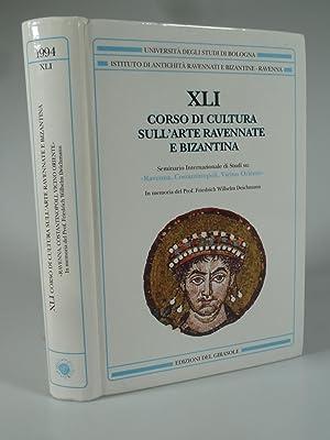 XLI (41) CORSO DI CULTURA SULL'ARTE RAVENNATE