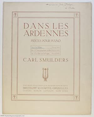 'Le Matin', no. 1 of 'Dans les Ardennes' for piano, (Carl, 1863-1934, Dutch Composer, Professor a...